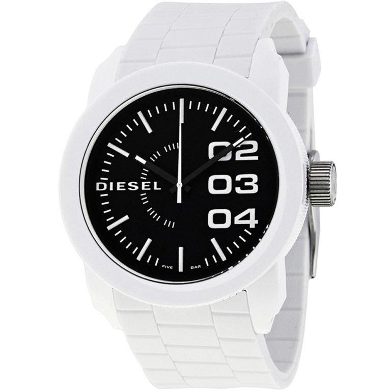 Часы с черным силиконовым ремешком DIESEL DZ