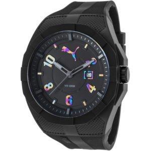Наручные часы Puma с черным циферблатом купить в интернет-магазине ... 0caeeb12bd3