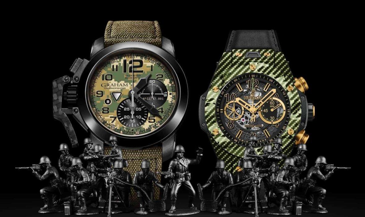 швейцарские военные часы