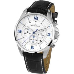 Часы JACQUES LEMANS 1-1857B