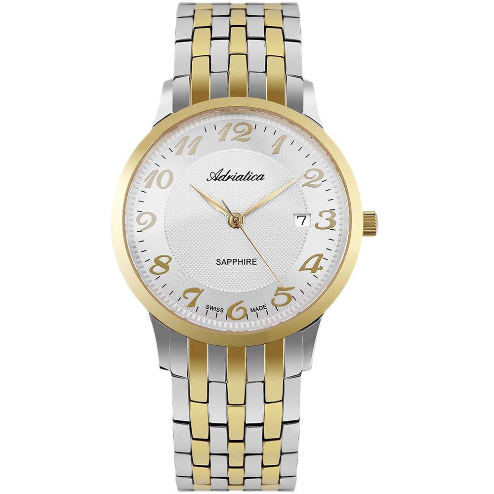 89656397 Adriatica 1268.2123Q - купить наручные часы: цены, отзывы ...