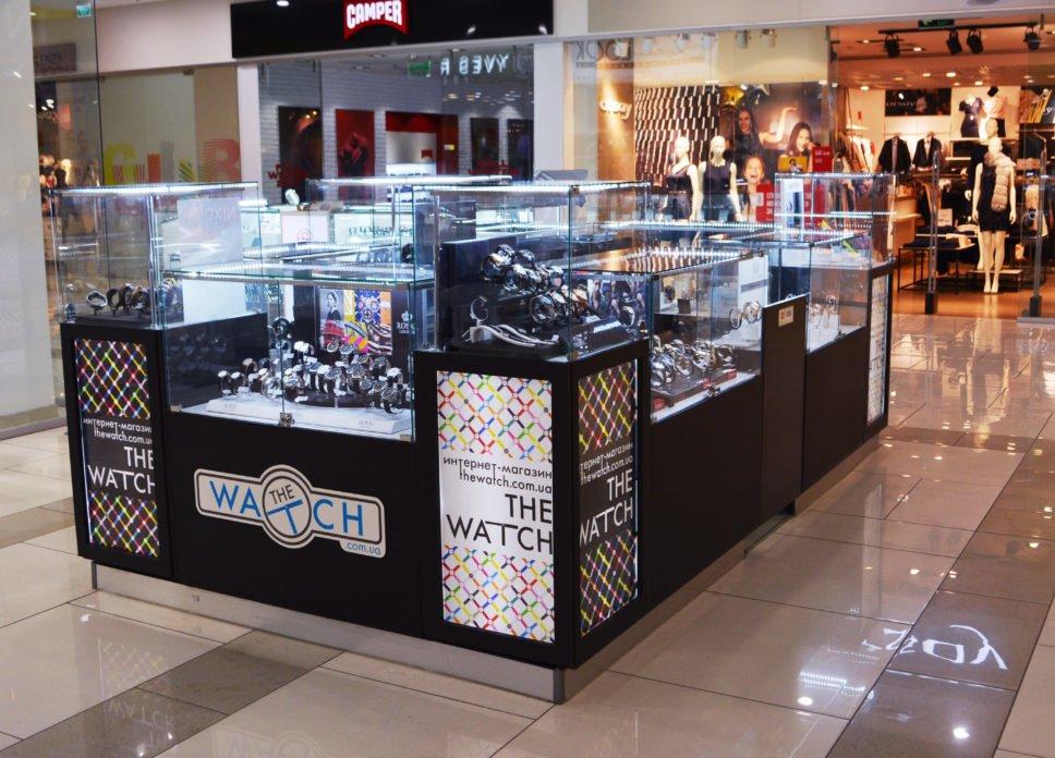 """Магазин часов TheWatch ТРЦ """"Гулливер"""" 2 этаж Киев view 2"""