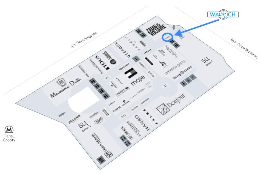Схема Гулливер 1 этаж