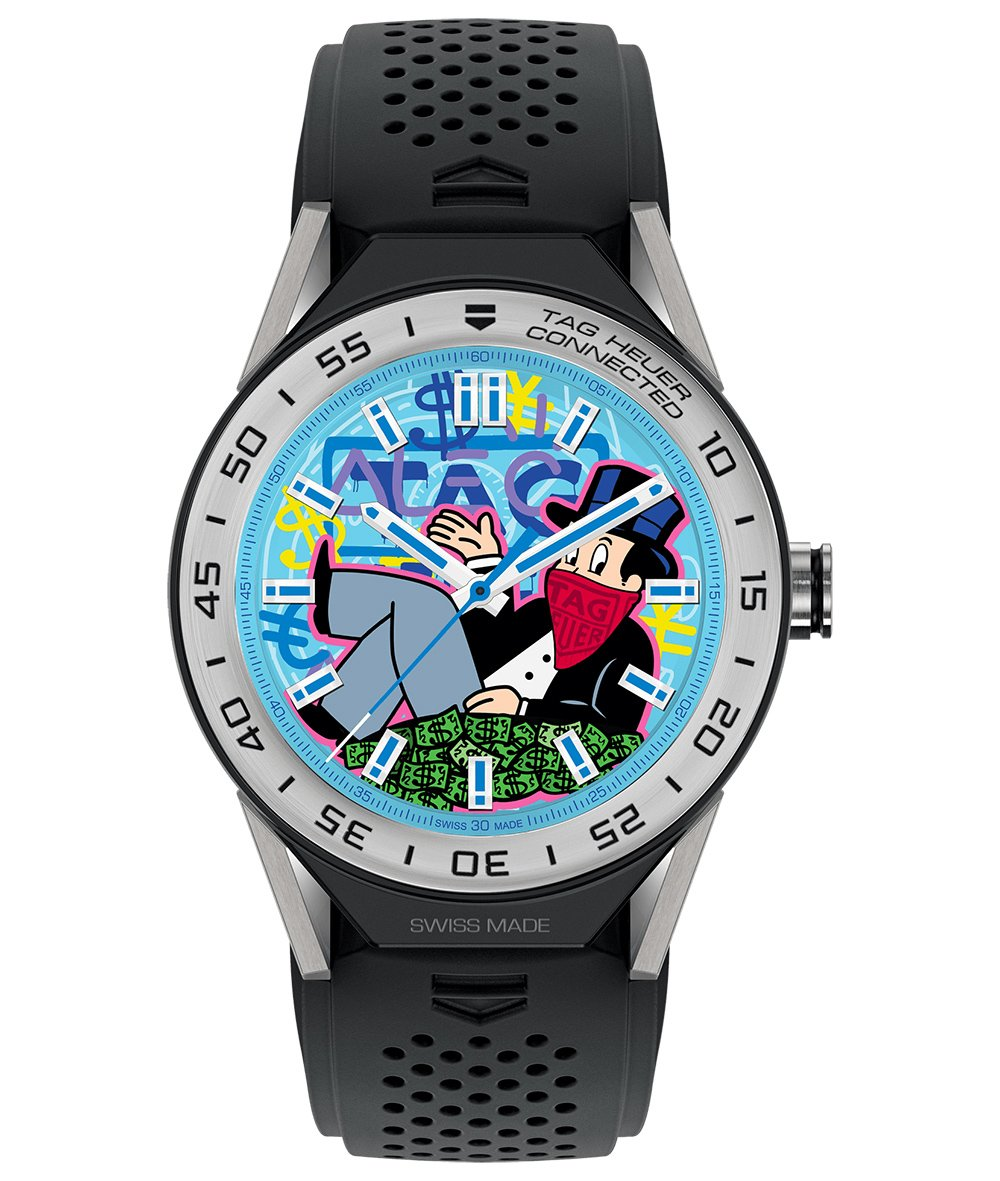 TAG Heuer Carrera Connected Modular 45 Alec Monopoly