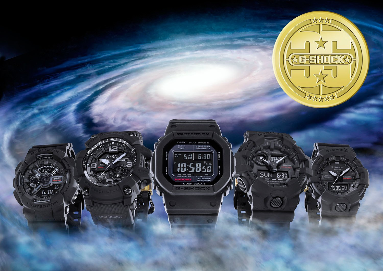 Casio BIG BANG Black