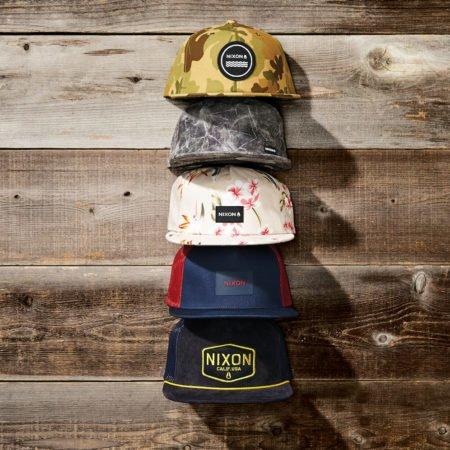 Nixon Кепки HATS