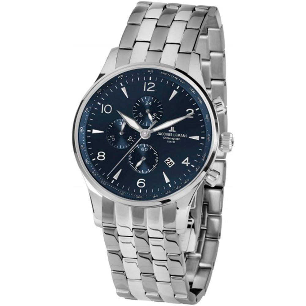 3400f14a Часы JACQUES LEMANS London 1-1844ZG купить по цене 5970 грн на сайте ...